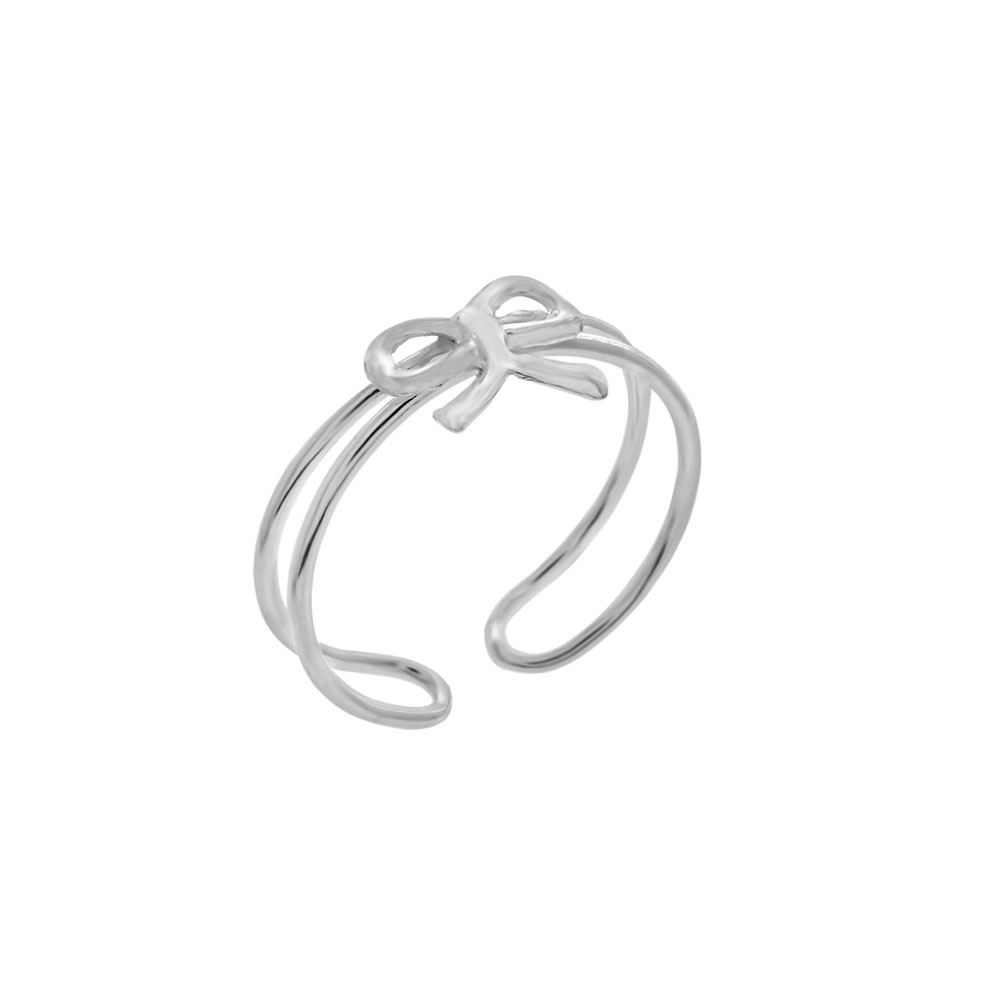 Sterling Silver Adjustable Toe Ring
