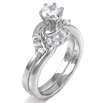 925 Silver Cubic Zirconia CZ Ring