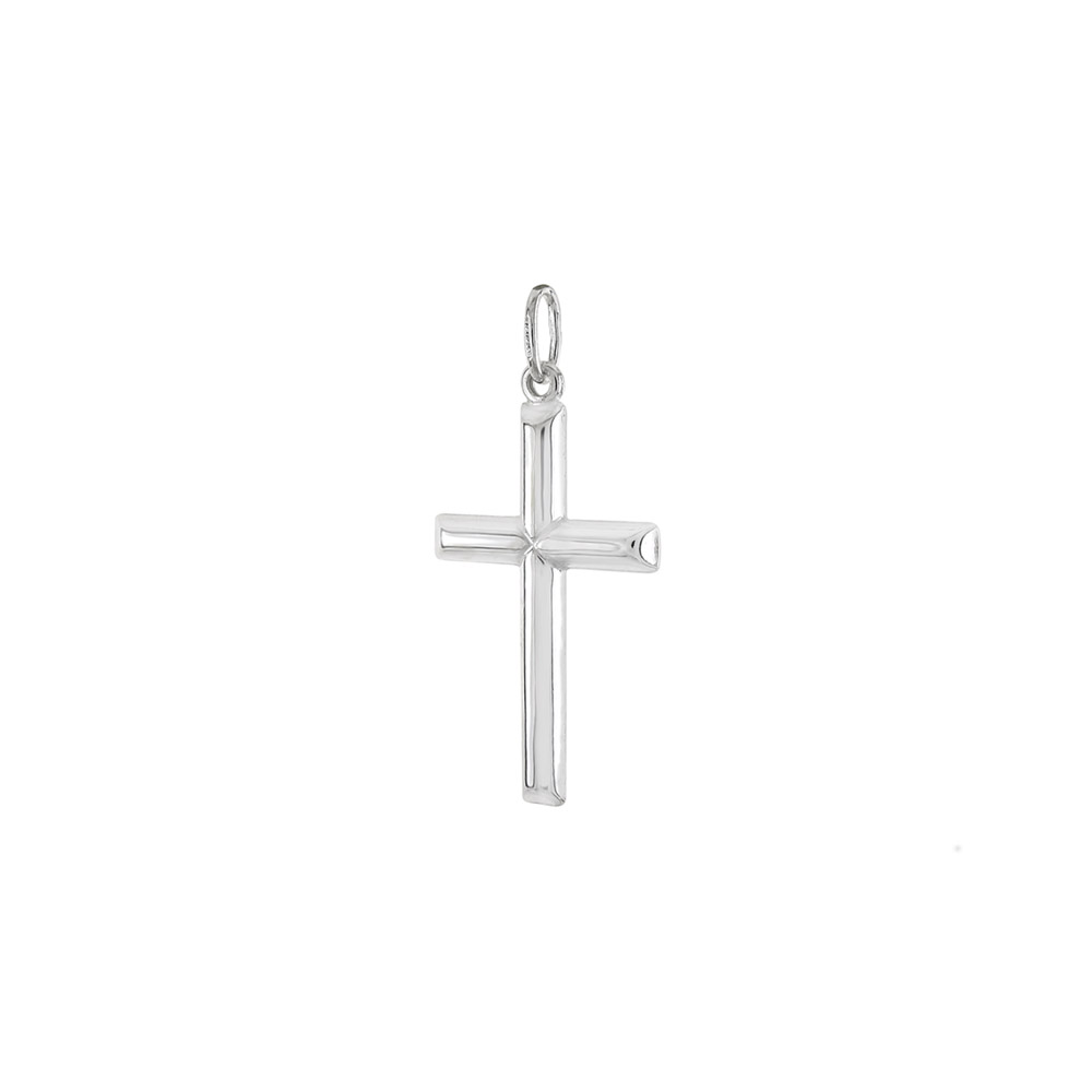 Italian Sterling Silver Cross Pendant
