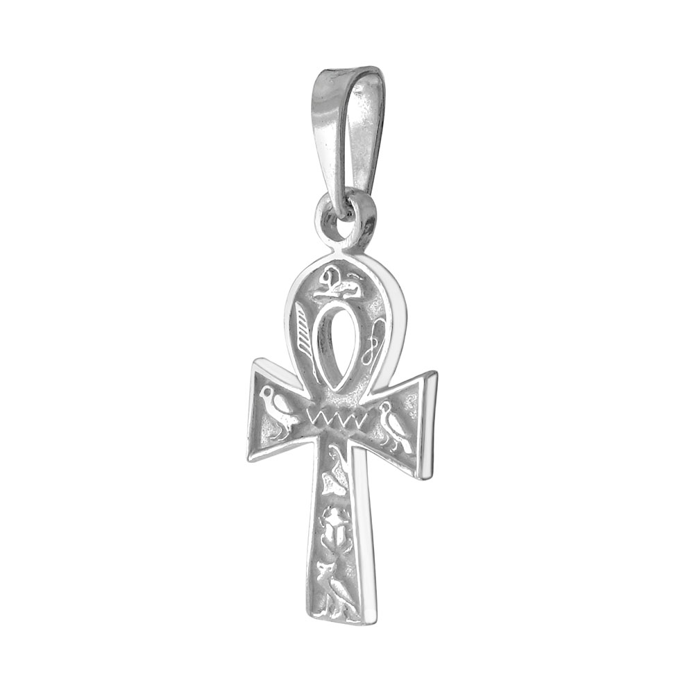 Sterling Silver Ankh Cross Pendant