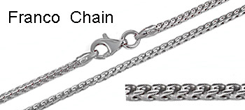 Silver Franco Chains